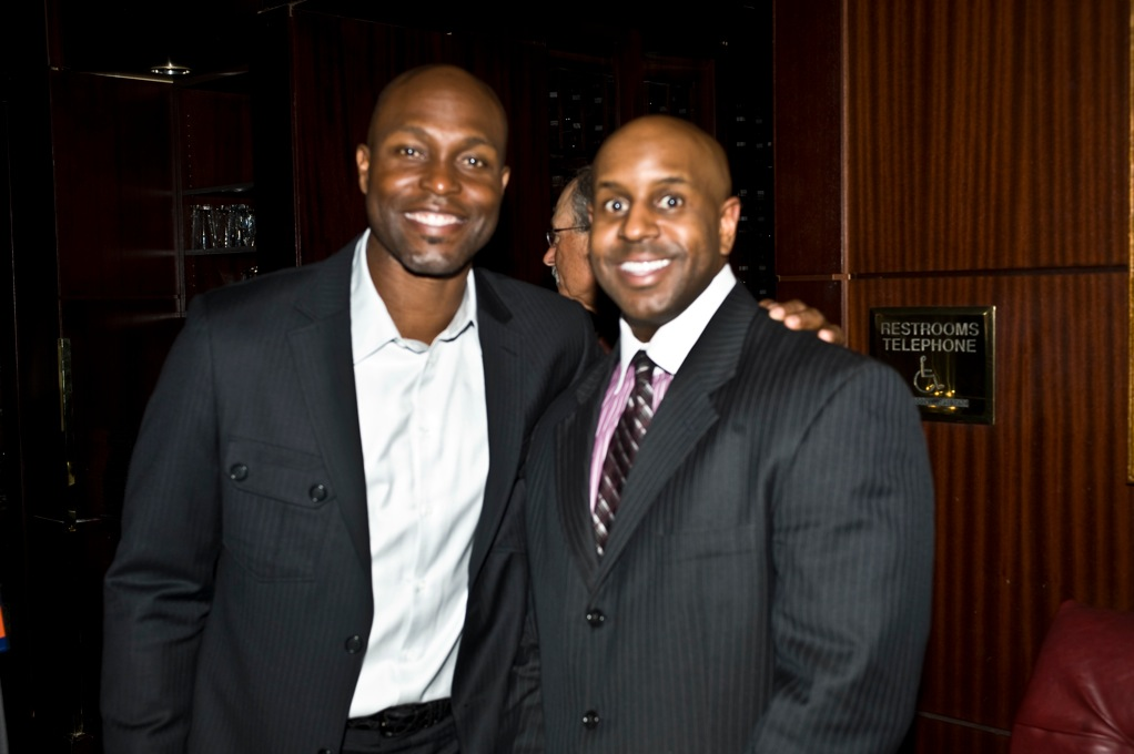 MLB Great Torii Hunter and Jason Wize