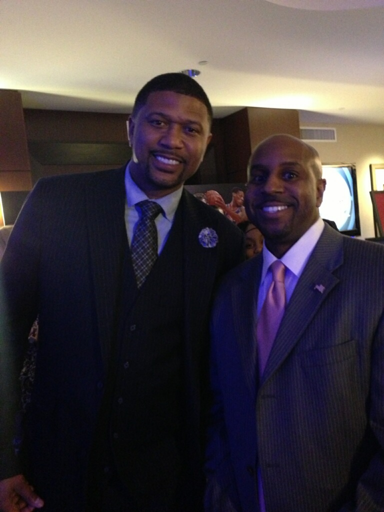 NBA Great Jalen Rose and Jason Wize