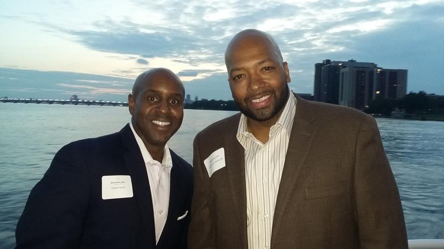 Jason Wize - Pro Basketball Player and Detroit Newsmaker Tarence Wheeler and Jason Wize